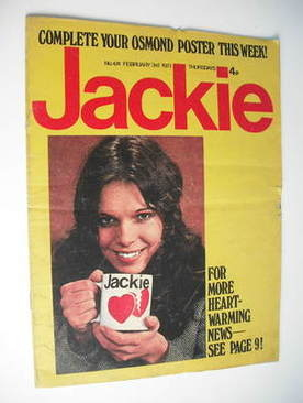 <!--1973-02-03-->Jackie magazine - 3 February 1973 (Issue 474)