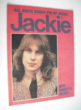Jackie magazine - 29 September 1973 (Issue 508 - Marty Kristian cover)