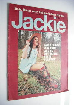 Jackie magazine - 6 October 1973 (Issue 509)