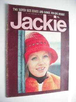 Jackie magazine - 10 November 1973 (Issue 514)