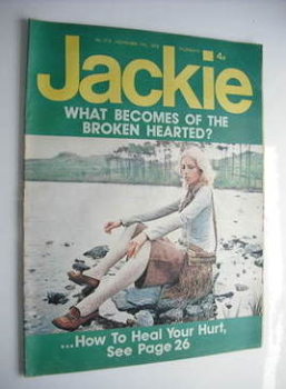 Jackie magazine - 17 November 1973 (Issue 515)