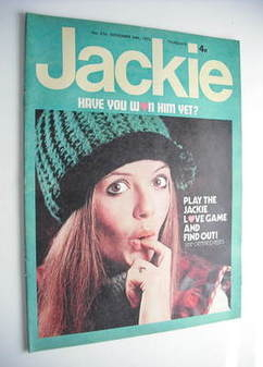 Jackie magazine - 24 November 1973 (Issue 516)