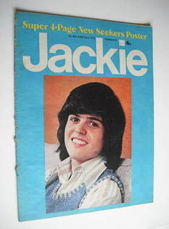 <!--1973-06-23-->Jackie magazine - 23 June 1973 (Issue 494 - Donny Osmond c