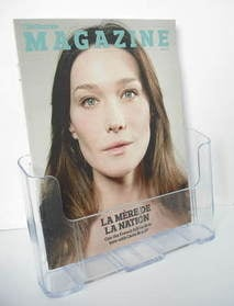 <!--2011-05-08-->The Observer magazine - Carla Bruni cover (8 May 2011)
