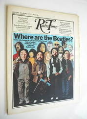 <!--1972-05-20-->Radio Times magazine - The Beatles cover (20-26 May 1972)