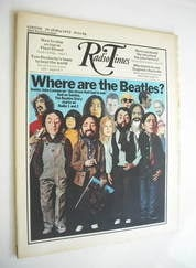 Radio Times magazine - The Beatles cover (20-26 May 1972)