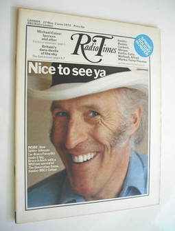 <!--1972-05-27-->Radio Times magazine - Bruce Forsyth cover (27 May - 2 June 1972)