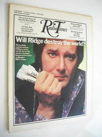<!--1972-06-03-->Radio Times magazine - Simon Oates cover (3-9 June 1972)