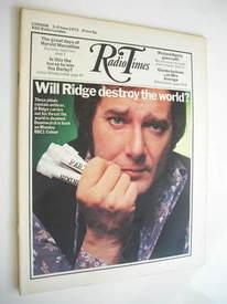 Radio Times magazine - Simon Oates cover (3-9 June 1972)