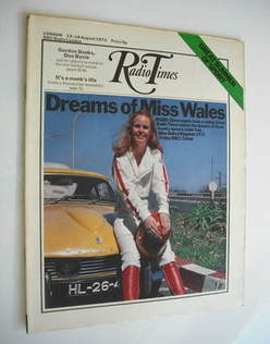 <!--1972-08-12-->Radio Times magazine - Eileen Darroch cover (12-18 August