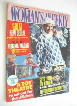 <!--1985-12-07-->Woman's Weekly magazine (7 December 1985 - British Edition