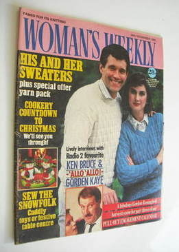 <!--1985-11-30-->Woman's Weekly magazine (30 November 1985 - British Editio