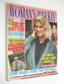 <!--1985-08-31-->Woman's Weekly magazine (31 August 1985 - British Edition)