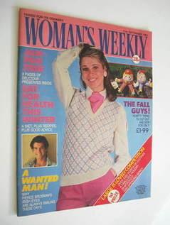 <!--1985-09-21-->Woman's Weekly magazine (21 September 1985 - British Editi