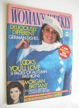 <!--1985-09-28-->Woman's Weekly magazine (28 September 1985 - British Editi