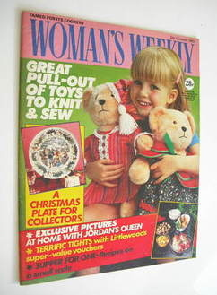 <!--1985-10-05-->Woman's Weekly magazine (5 October 1985 - British Edition)