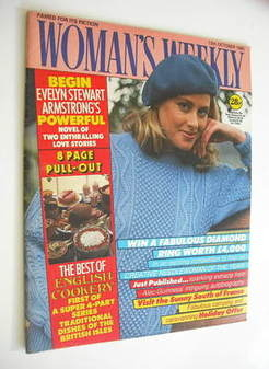 <!--1985-10-12-->Woman's Weekly magazine (12 October 1985 - British Edition