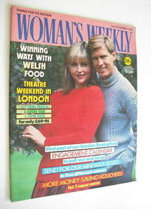 <!--1985-11-02-->Woman's Weekly magazine (2 November 1985 - British Edition