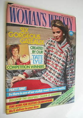 <!--1985-11-16-->Woman's Weekly magazine (16 November 1985 - British Editio