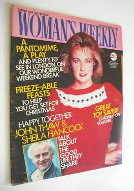 <!--1985-11-23-->Woman's Weekly magazine (23 November 1985 - British Editio