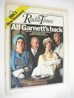<!--1972-09-09-->Radio Times magazine - Till Death Us Do Part cover (9-15 S