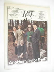 <!--1972-04-08-->Radio Times magazine - Grand National cover (8-14 April 1972)