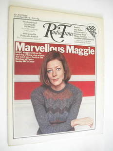 <!--1972-04-15-->Radio Times magazine - Maggie Smith cover (15-21 April 197