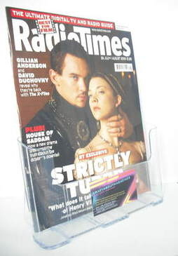 <!--2008-07-26-->Radio Times magazine - Jonathan Rhys Meyers and Natalie Do