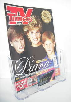 <!--2007-06-30-->TV Times magazine - Princess Diana, Prince William and Pri