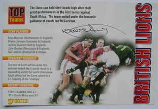 Neil Jenkins autograph