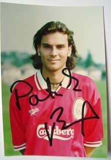 Patrik Berger autograph