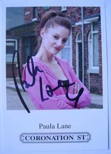 Paula Lane autograph