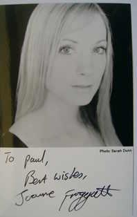 Joanne Froggatt autograph