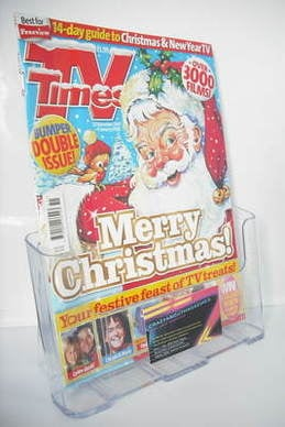 <!--2007-12-22-->TV Times magazine - Christmas Issue 2007 (22 December 2007