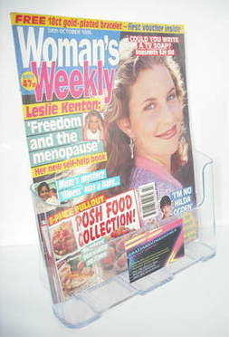 <!--1995-10-24-->Woman's Weekly magazine (24 October 1995)