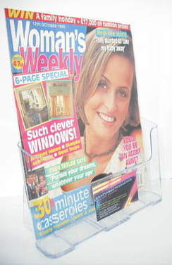 <!--1995-10-17-->Woman's Weekly magazine (17 October 1995)