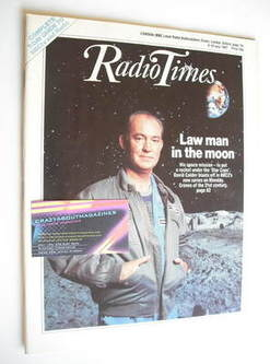 <!--1987-07-04-->Radio Times magazine - David Calder cover (4-10 July 1987)