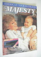 <!--1983-04-->Majesty magazine - Princess Diana and Prince William cover (April 1983 - Volume 3 No 12)