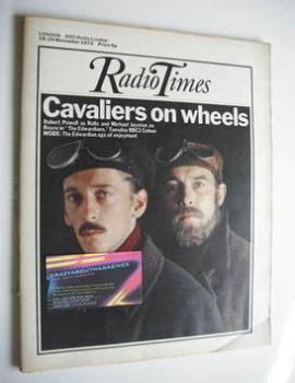 Radio Times magazine - Robert Powell and Michael Jayston cover (18-24 November 1972)