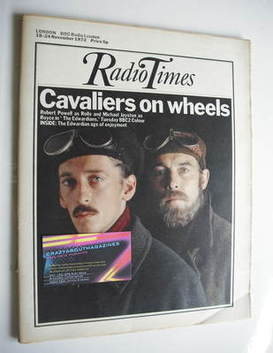 <!--1972-11-18-->Radio Times magazine - Robert Powell and Michael Jayston c