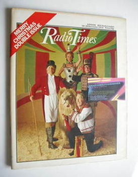 Radio Times magazine - Bruce Forsyth, Lulu and Morecambe and Wise cover (16-29 December 1972)