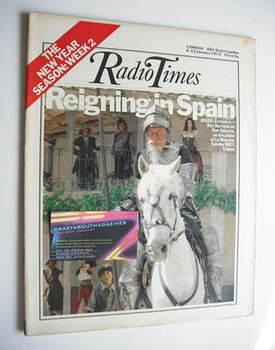 <!--1973-01-06-->Radio Times magazine - Rex Harrison cover (6-12 January 19