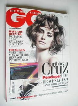 British GQ magazine - June 2011 - Penelope Cruz cover