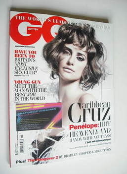 <!--2011-06-->British GQ magazine - June 2011 - Penelope Cruz cover