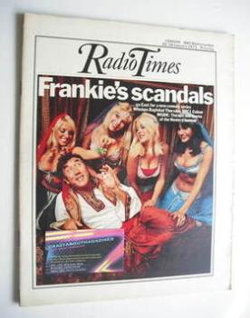Radio Times magazine - Frankie Howerd cover (20-26 January 1973)