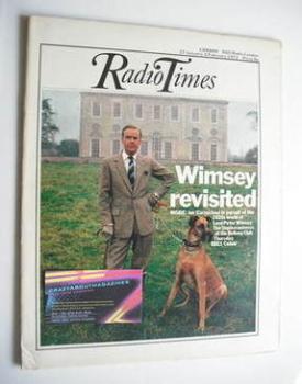 Radio Times magazine - Ian Carmichael cover (27 January - 2 February 1973)