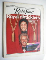 <!--1972-11-04-->Radio Times magazine - Danny La Rue and Ken Dodd cover (4-10 November 1972)