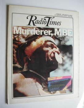 Radio Times magazine - Wamp Wan cover (10-16 February 1973)