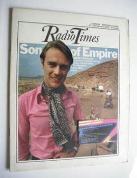 Radio Times magazine - Christopher Cazenove cover (17-23 February 1973)