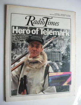Radio Times magazine - Claus Helberg (24 February - 2 March 1973)